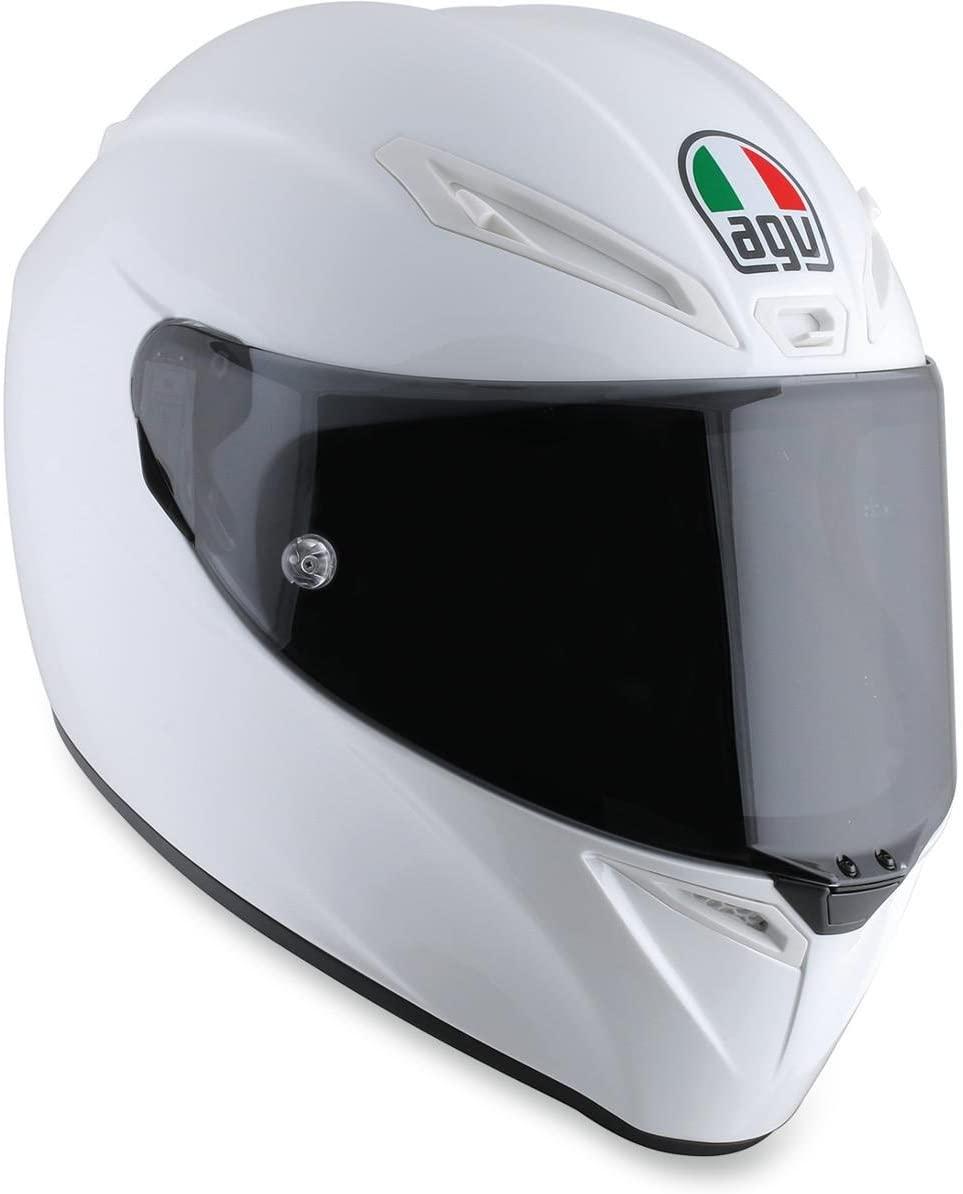AGV Veloce-9 Veloce S Adult Helmet - Pearl White/Meadium/Small