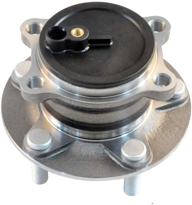 IRONTEK 512519 Rear Left and Right Wheel Hub Assembly Wheel Bearing for 14-17 Mazda 6, 13-17 Mazda CX-5, FWD 1 PCS