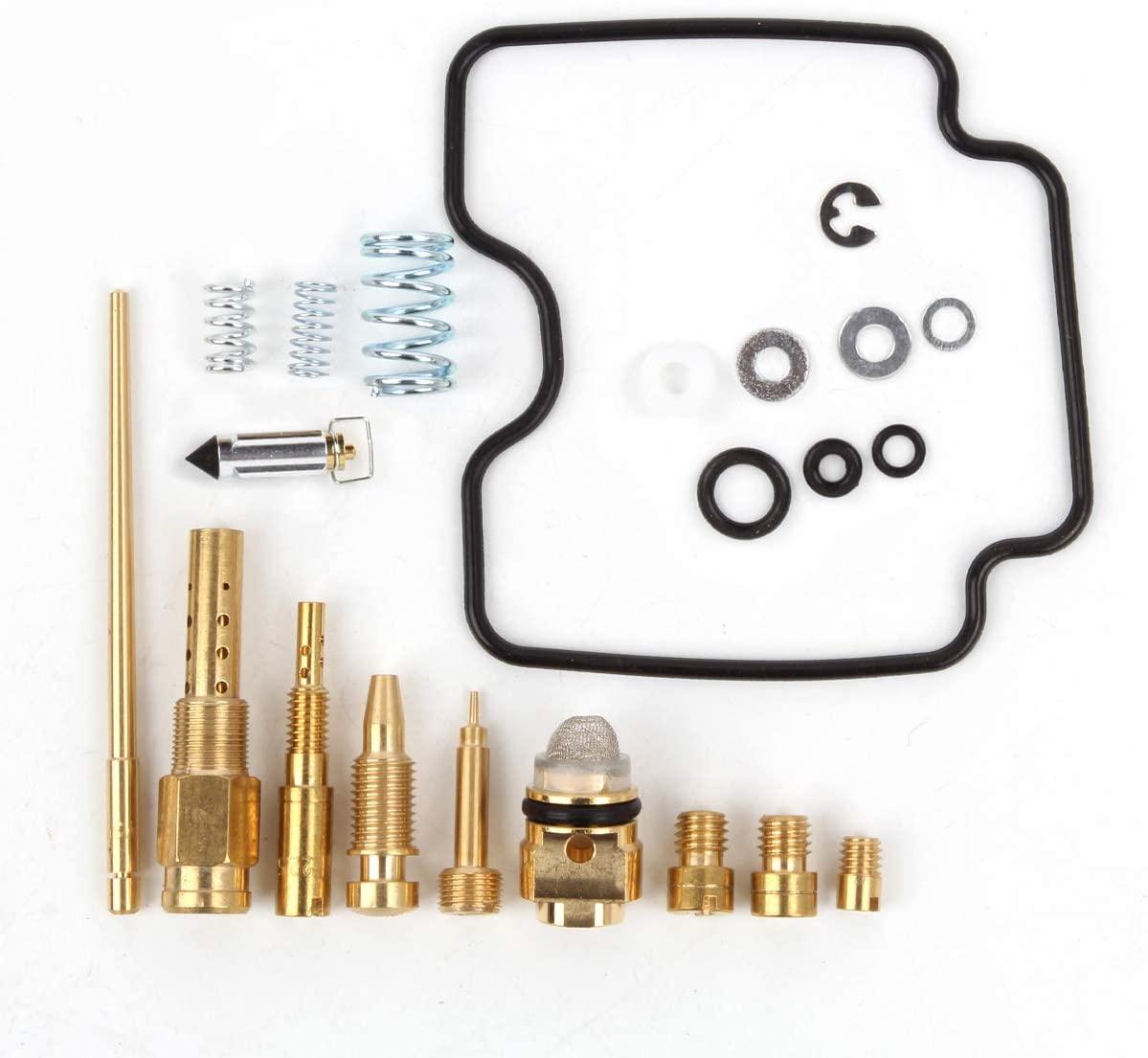 Carburetor Repair Carb Rebuild Kit for LTZ400 Quadsport Z400 2003 2004 2005 2006 2007 2008