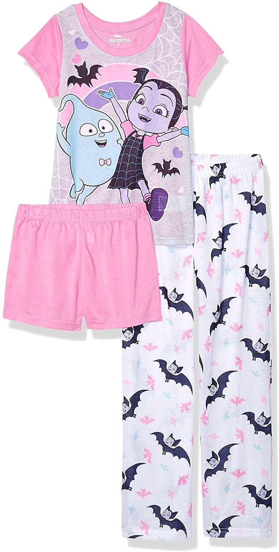 Disney Girls' Vampirina 3-piece Pajama Set