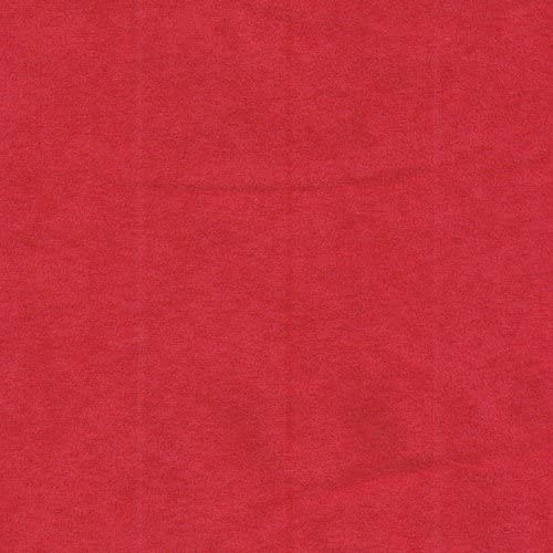 SyFabrics Stretch Micro Suede Fabric 58 inches Wide Red