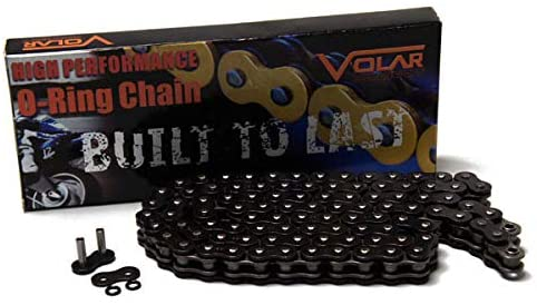 Volar O-Ring Motorcycle Chain - Black for 530 x 116 Links