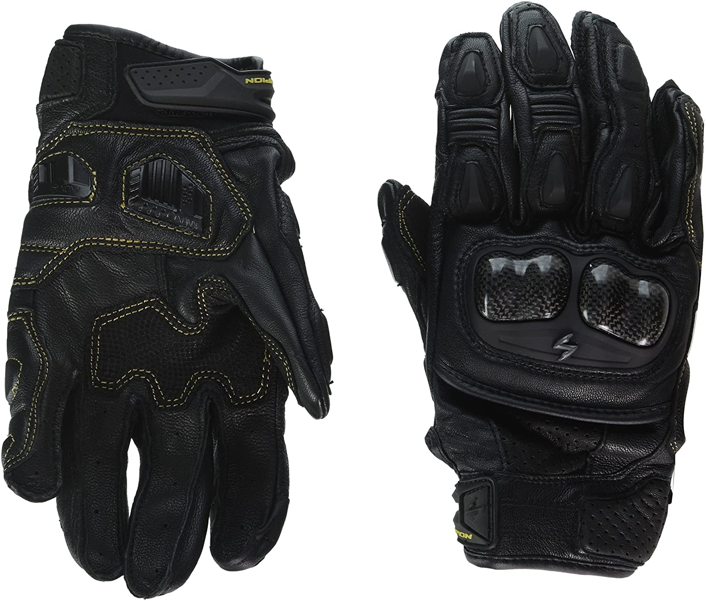 ScorpionExo SGS MKII Men's Short Cuff Sport Gloves (Black, Small)