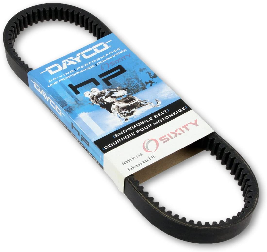 1976-1978 for JOHN DEERE Cyclone 440 Drive Belt Dayco HP Snowmobile OEM Upgrade Replacement Transmission Belts