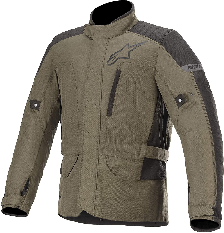 Alpinestars Men's Gravity Drystar Motorcycle Jacket, Forest Black, 4X-Large