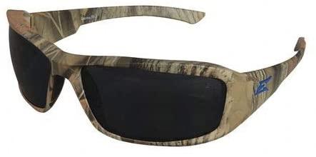 Glasses, Brazeau, Camo, Blue Logo, Polarized