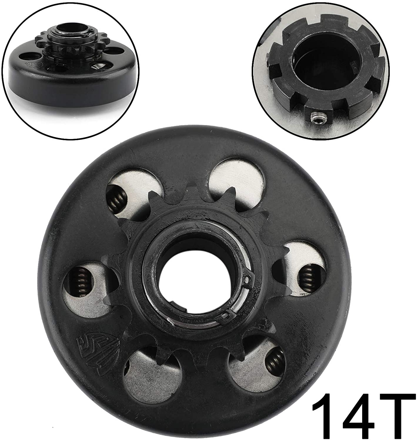 CHENDGE2 New 13HP Go Kart Centrifugal Clutch 1inch Bore 14T 14 Tooth For 40 41 420 Chain