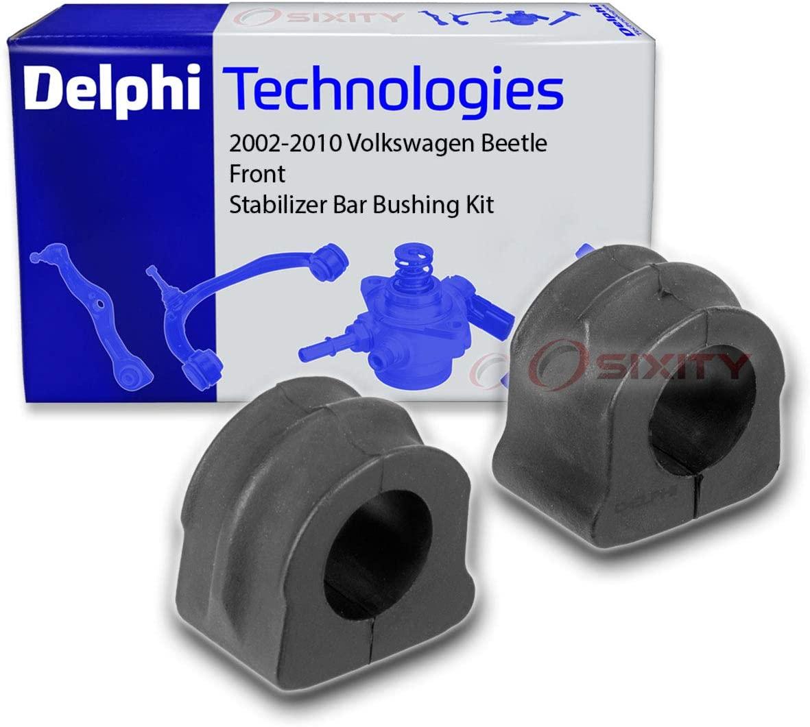 Delphi Front Stabilizer Bar Bushing Kit for 2002-2010 Volkswagen Beetle - Suspension Shock Strut Ride