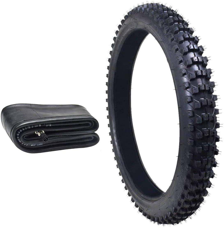 ZXTDR 80/100-21 Tire and Inner Tube Set for Motocross Dirt Pit Bikes
