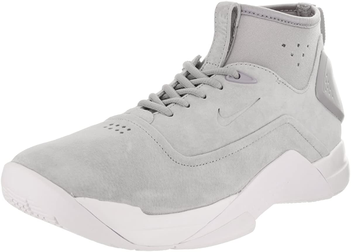 Nike Men's Hyperdunk Low Crft Wolf Grey/Wolf Grey/White Basketball Shoe 10 Men US