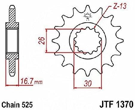 JT Front Sprocket 14T JTF1370.14