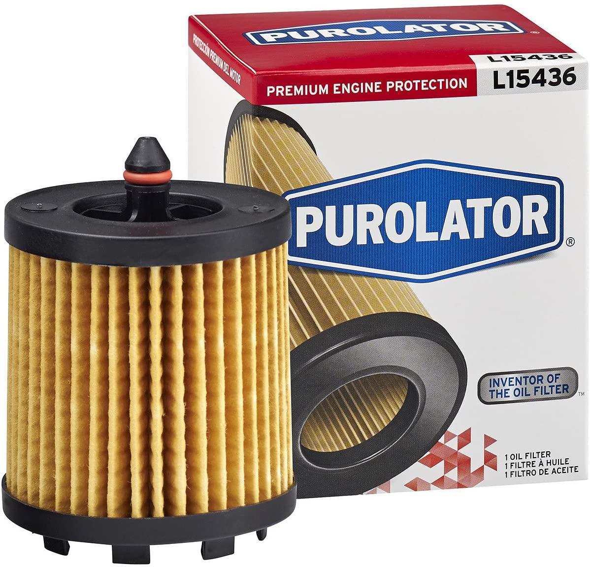 Purolator L15436 Premium Engine Protection Cartridge Oil Filter