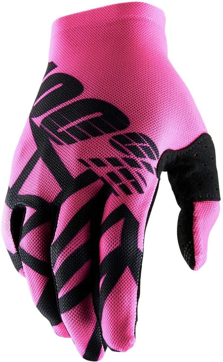 100% Celium 2 Men's Off-Road Motorcycle Gloves - Neon Pink/Black/Large