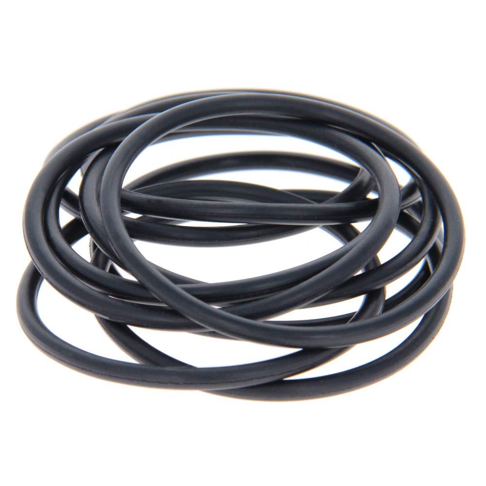 Othmro Nitrile Rubber O-Rings 55mm OD 49mm ID 3.1mm Width, Metric Buna-N Sealing Gasket, Pack of 10