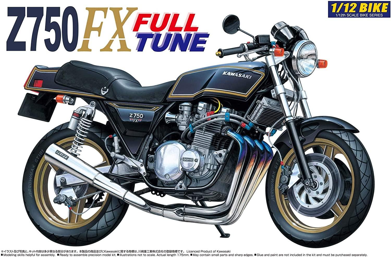 Aoshima 1/12 Kawasaki Z750FX Full-Tune