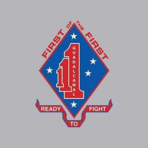 1st Battalion 1st Marine Reginemnt USMC Sticker Vinyl Decal Sticker Made in USA