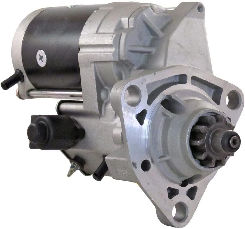 Rareelectrical NEW STARTER MOTOR COMPATIBLE WITH FREIGHTLINER FL FLC FLD 112 120 CUMMINS L-10 N14 2593564C91