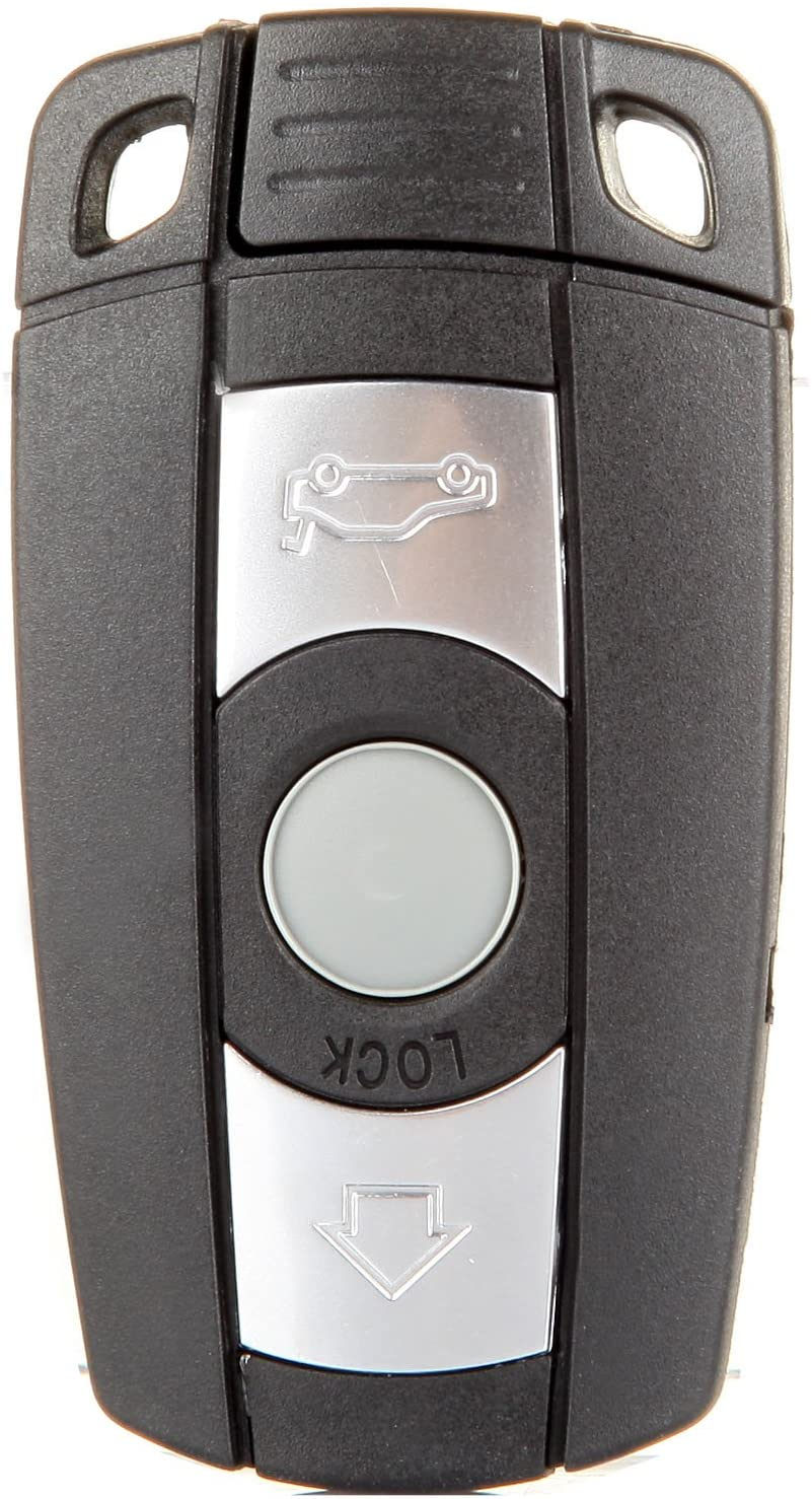 ECCPP Replacement fit for Uncut Keyless Entry Remote Key Fob BMW Series KR55WK49123 (Pack of 1)