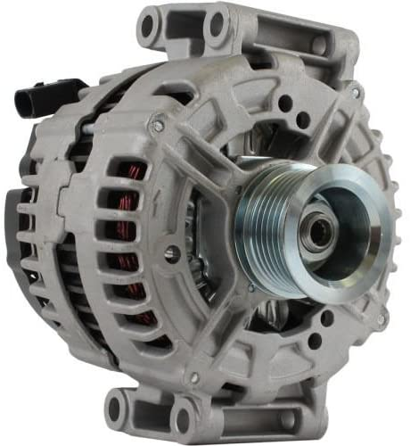 Rareelectrical NEW 180 AMP ALTERNATOR COMPATIBLE WITH MERCEDES EUROPE SL R230 AMG63 CLS CLK MERCEDES-BENZ EUROPE C-CLASS W204 C63 AMG 204077 336 KW-457 2008-2014 801561540102 801562E11 A1561540102