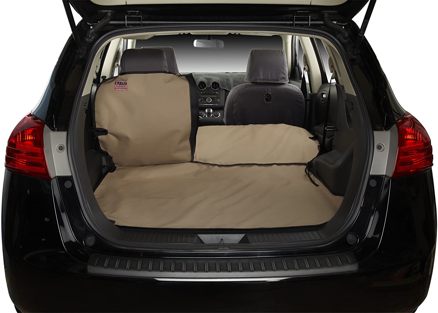 Covercraft Custom Fit Cargo Liner for Select Nissan Versa Models - Polycotton (Tan)