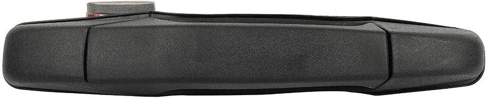 ECCPP Door Handle Exterior Outside Outer Front Passenger Side for 2007-2014 for Chevy for GMC Pickup Truck Textured Black