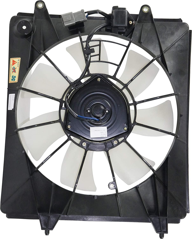 A/C Condenser Fan Assembly for Honda CR-V 07-09 2.4L Eng
