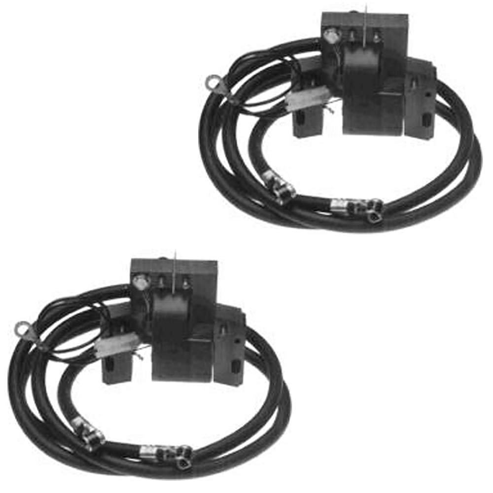 Two Pack Fits Briggs and Stratton Ignition Coil Armature Magneto 394891 392329 590781