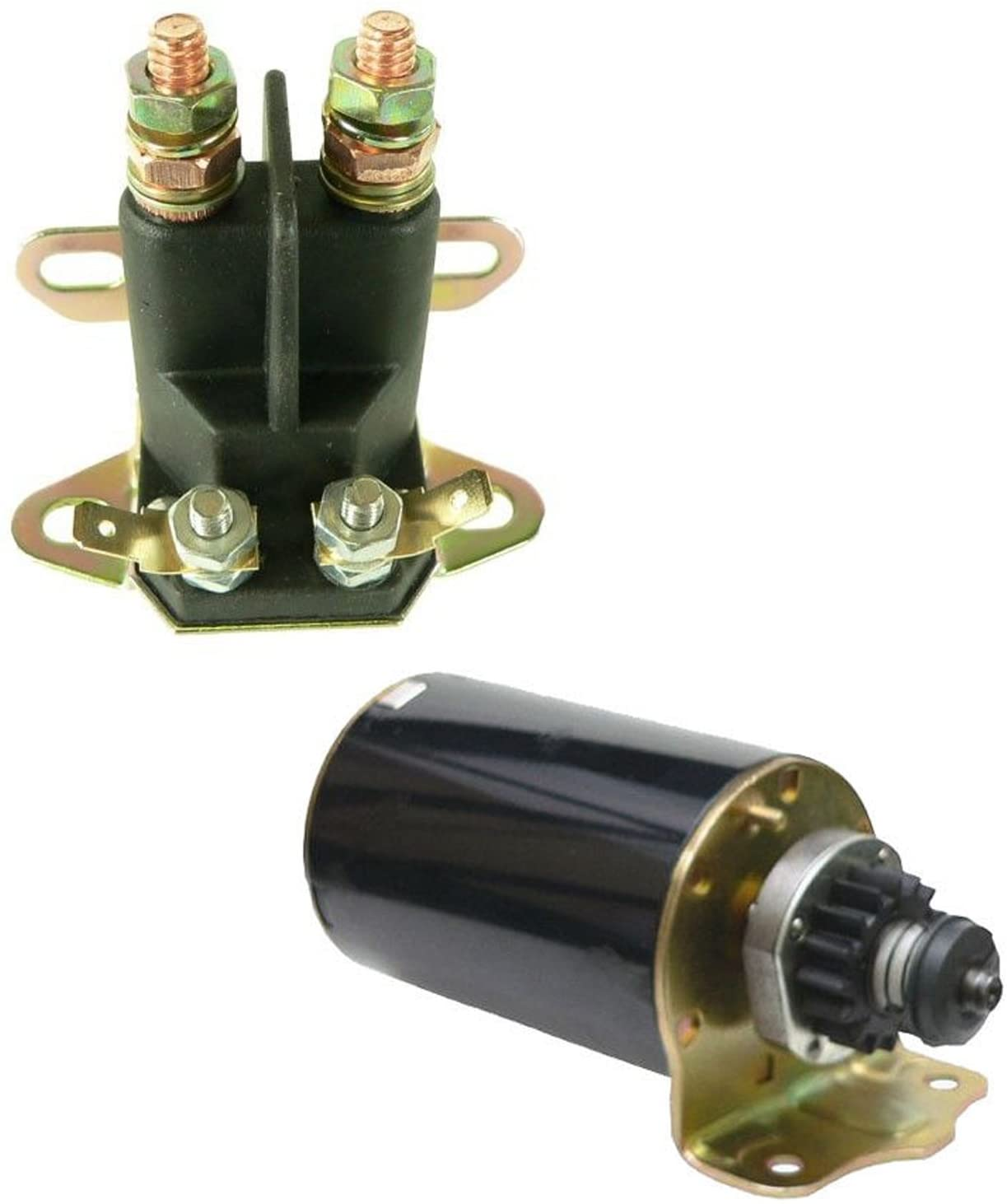 NEW Starter + SOLENOID Replacement For BRIGGS & STRATTON 31C707 31D707 31D777 31E777 31F707