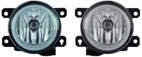 Go-Parts - PAIR/SET - for 2013 - 2016 Honda CR-Z Fog Lights Lamps Assembly Replacement Housing / Lens / Cover - Left & Right (Driver & Passenger) Side HO2593136 HO2592136 33901-TY0-305 33951-TY0-305