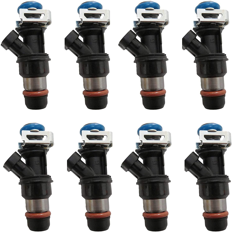 8x Fuel Injectors For Cadillac Escalade Sliverado Sierra Suburban 1999-2007 FJ315 FJ10062