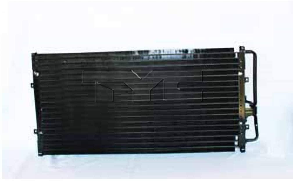 For Pontiac Trans Sport A/C Condenser 1997-1998 Serpentine Config w/AUX AC For GM3030170   52486810