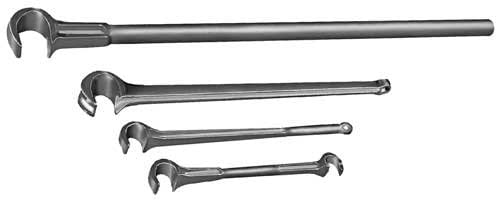 Gearench VW0BR - Valve Wrench, Wrench Size: 1/2 x 21/32, Body Material: Bronze, Overall Length: 8