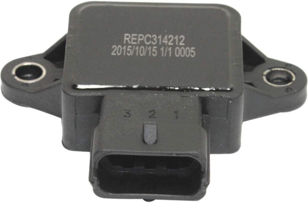 For Saab 9-3 Throttle Position Sensor 1999 2000   3 Male Terminals