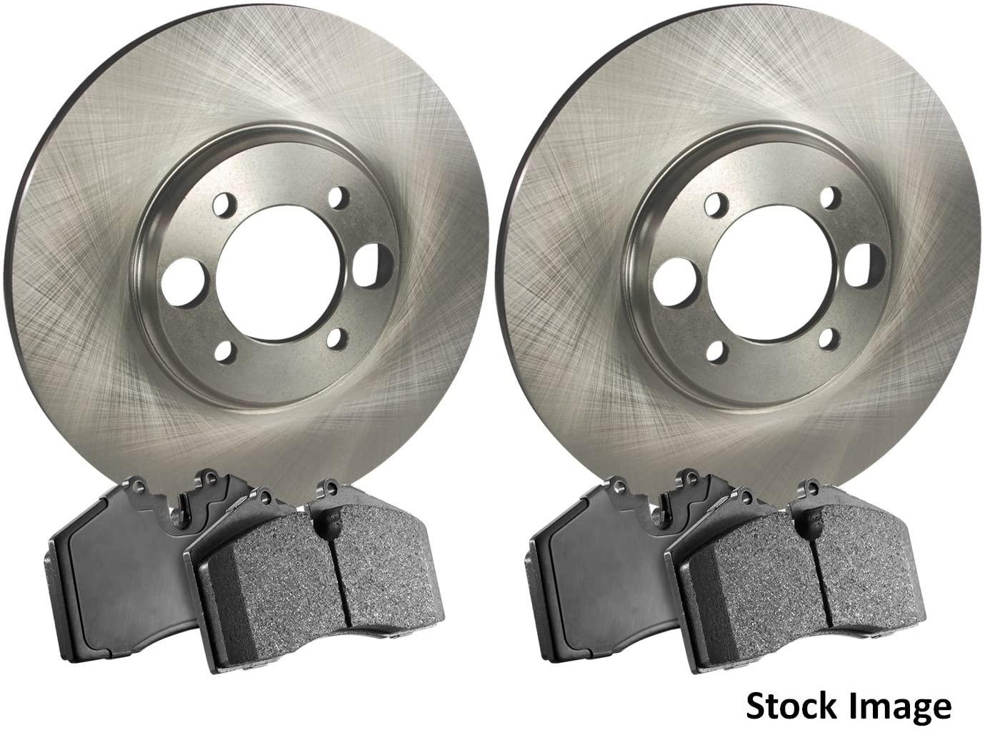 Stirling - 1997 For Mazda MX-6 Front Disc Brake Rotors and Ceramic Brake Pads
