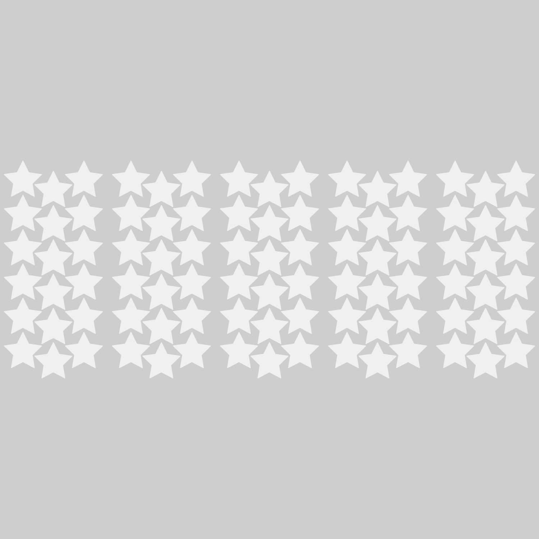 LiteMark 2 Inch White Removable Stars - Pack of 90