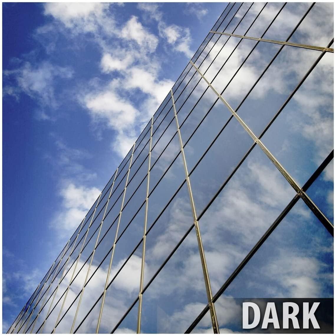 BDF RPRGY Window Film Premium One Way Mirror Privacy Silver/Gray (Very Dark) - 24in X 50ft