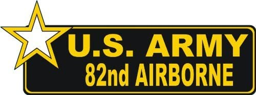 MAGNET United States Army 82nd Airborne Bumper Magnetic Sticker Decal 9