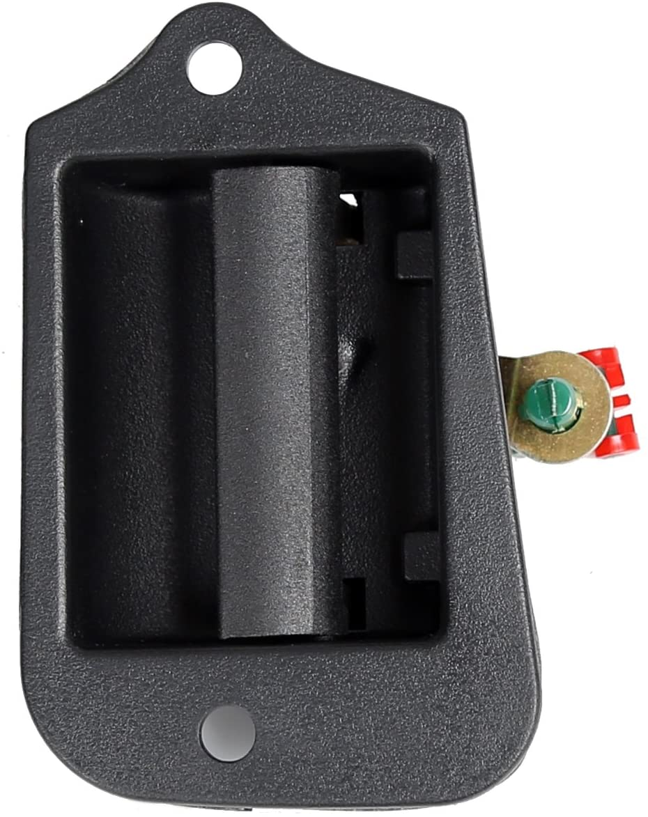 ECOTRIC Upgrade Rear 3rd Third Side Door Extended Cab Handle Compatible with 1994-2004 Chevy S10/ GMC Sonoma S15 / ISUZU Hombre Pickup Replace For Part Number 19211052