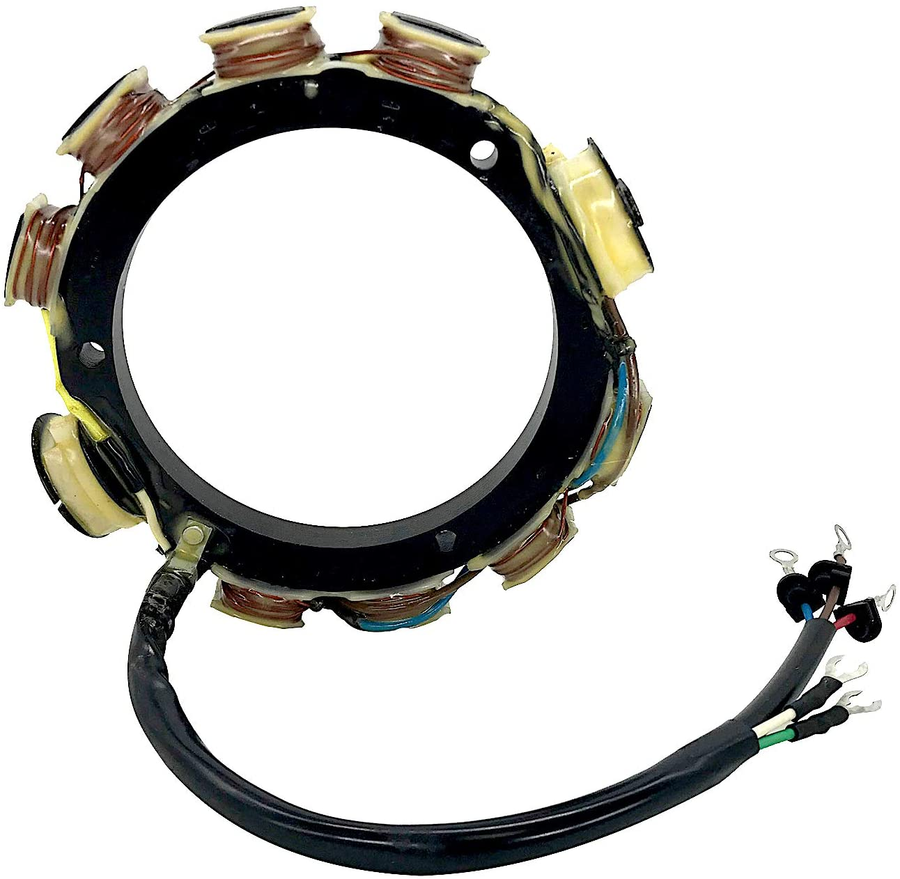Jetunit Outboard Stator 15AMP 3Cyl For YAMAHA 177-688-11 688-85510-10-00 688-85510-11-00 2988-2000 75 85 90 HP
