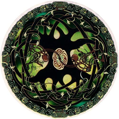 Celtic Art Studio Tree of Life - Window Sticker/Decal (4.5