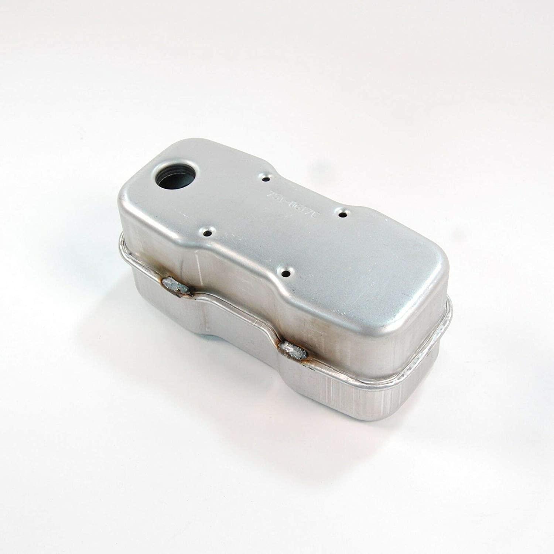 RJMom Single Inlet Muffler for MTD Cub Cadet 751-0617C