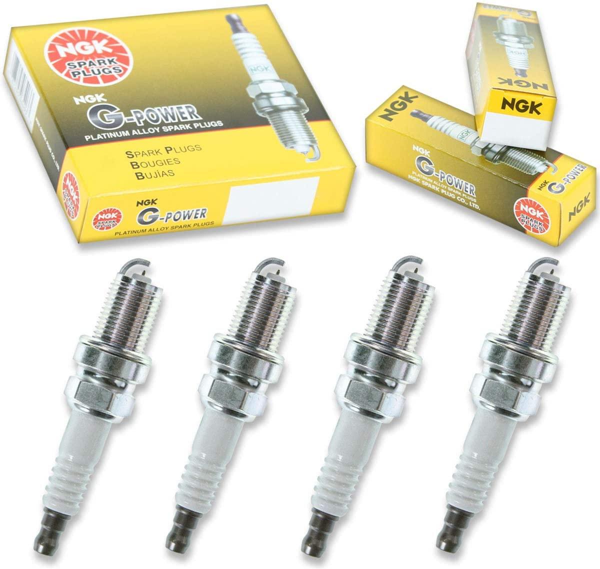 4 pcs NGK G-Power Spark Plugs for 1999-2003 Saab 9-3 2.3L 2.0L L4 2.0L - Engine Kit Set Tune Up