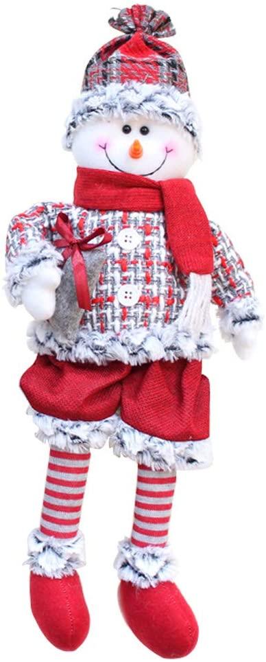 Christmas Gnome Gifts Holiday Decoration Kids Birthday Present Handmade Tomte Plush Doll, Home Ornaments Tabletop Santa Figurines