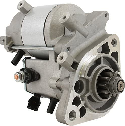 Rareelectrical NEW STARTER MOTOR COMPATIBLE WITH 2010-2014 TOYOTA FJ CRUISER 4.0L 28100-31131 428000-6841