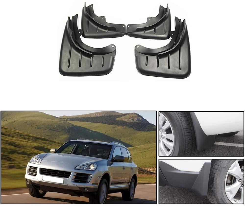 Maite For Porsche Cayenne 2008-2010 Car Front and Rear Mud Flaps Splash Guards Fender Mudguard 4Pcs
