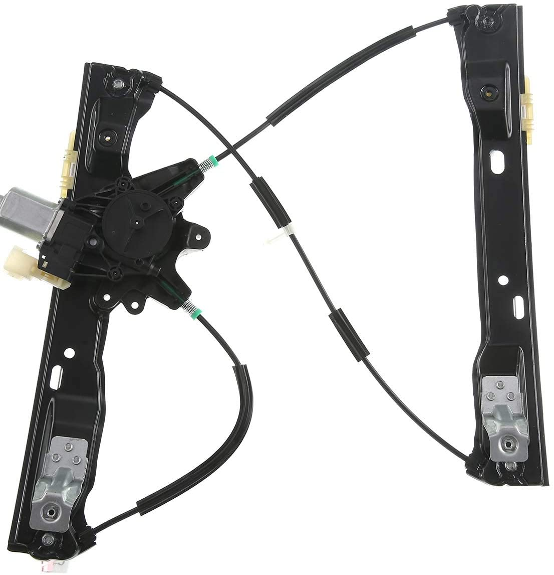 A-Premium Power Window Regulator with Motor Compatible with Ford Focus 2012-2018 Front Right Passenger Side