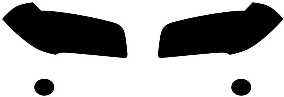 Rvinyl Rtint Headlight Tint Covers for BMW X3 2004-2010 - Smoke