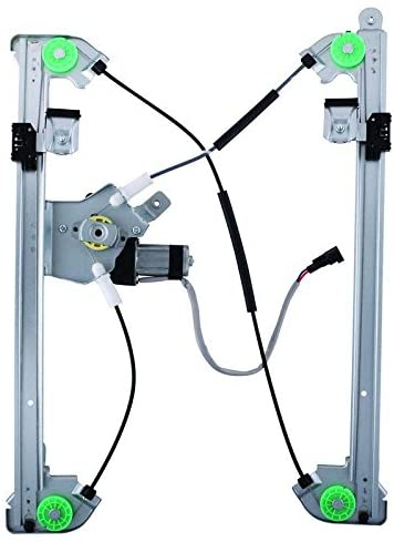 New Window Regulator W/Mtr Front Drivers Side Left LH Replacement For 2004-2008 Replacement Ford F-150/Lobo & 2006-2008 Lincoln Mark LT 741-428, 660270, 11A406, 4L3Z1523201BA