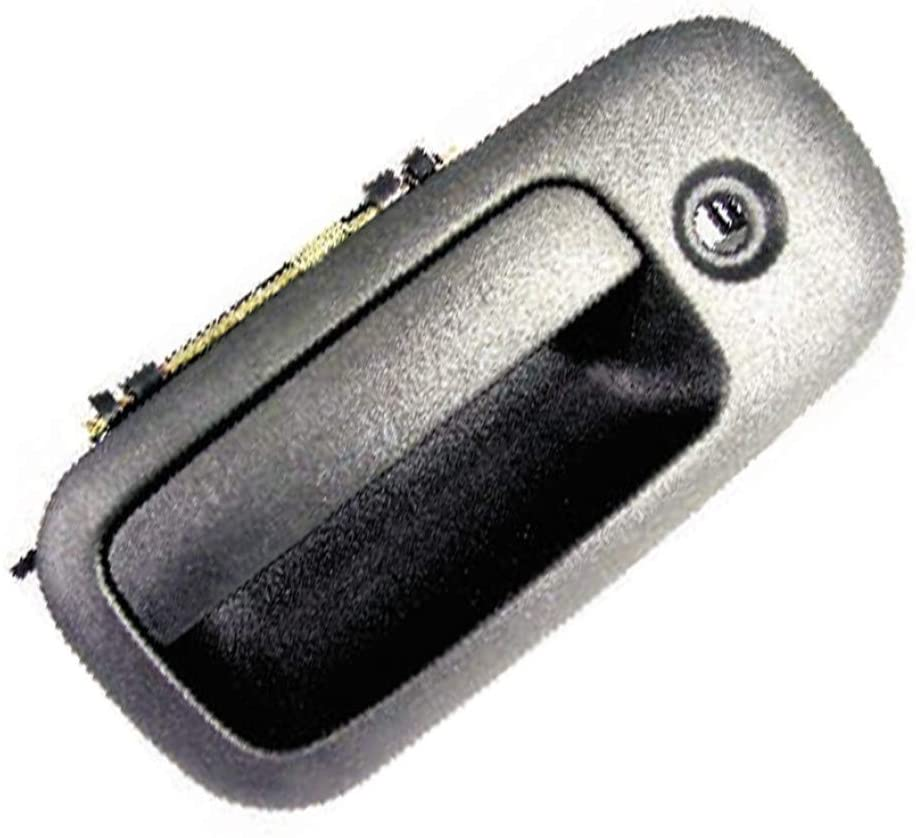 For CHEVROLET EXPRESS 1500 2500 3500 Door Handle 2003-2009 Exterior | Front Driver Side (Texture/Black Finish) | KeyHole