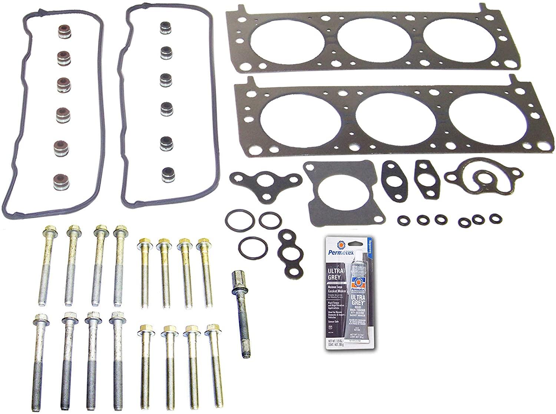 Head Gasket Set Bolt Kit Fits: 91-94 Buick Regal 3.1L V6 OHV 12v Cu.191 VIN T